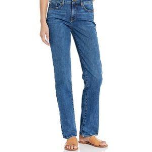 NYDJ Marilyn Straight Presidio size 10 jeans